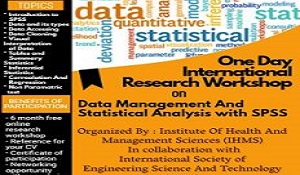 International Research Workshop on Data Management and Statistical